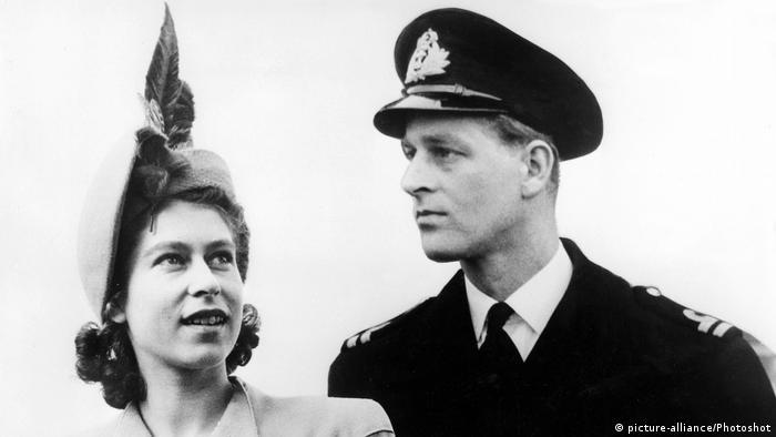 Princess Elizabeth and Lt. Philip Mountbatten
