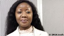 Titel: Ivone Soares, Mitglied von RENAMO Schlagwort: COP 23, Klimawendel, RENAMO, Konflikt, Frieden, Wer hat das Bild gemacht/Fotograf?: Nadia Issufo Wann wurde das Bild gemacht?: 14.11.2017 Wo wurde das Bild aufgenommen?: Bonn, Deutschland Bildbeschreibung: Ivone Soares spricht über die Verzögerung der Friedensverhandlungen in Mosambik und den Klimawandel