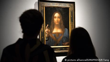 Leonardo da Vinci's 'Salvator' (picture alliance/ZUMAPRESS/R.Tang)