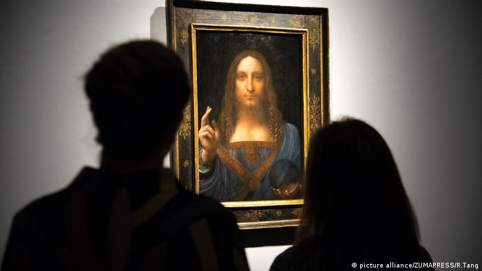 Leonardo da Vinci's 'Salvator' (picture alliance/ZUMAPRESS/R.Tang)