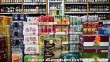 Minimum alcohol pricing court ruling. Alcohol for sale in an Edinburgh off-licence shop as Scotland will become the first country in the world to introduce minimum unit pricing for alcohol. Picture date: Wednesday November 15, 2017. Seven justices at the UK's highest court dismissed a legal challenge that had been brought against minimum unit pricing by the Scotch Whisky Association (SWA). Photo credit should read: Jane Barlow/PA Wire URN:33735825 |