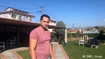 Albanien Flüchtlinge (DW/L. Arapi )