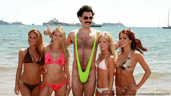 Sacha Baron Cohen im Jahr 2006 als Borat (picture alliance/dpa/Everett Collection/20th Century Fox)