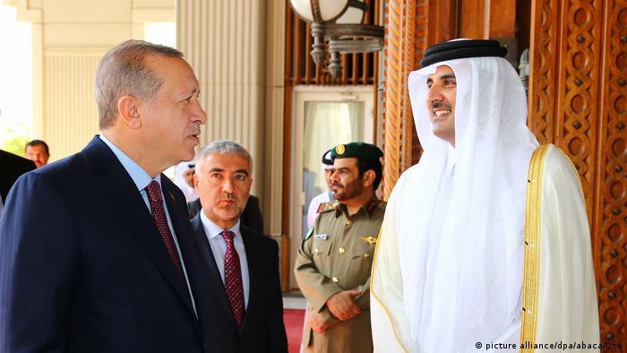 Erdogan besucht Katar (picture alliance/dpa/abaca/Dha)