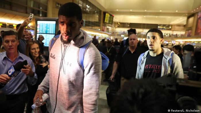UCLA players apologize for shoplifting in China, thank Trump