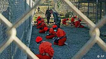 Taliban Gefangene in Guantanamo