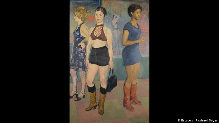 Ausstellung The American Dream Raphael Soyer (Estate of Raphael Soyer)