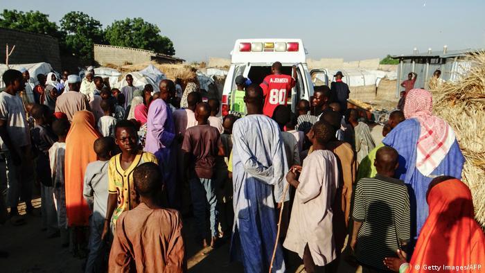 Nigeria Boko Haram Anschlag Maiduguri (Getty Images/AFP)