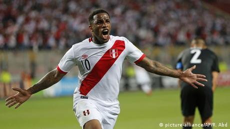WM Qualifikation Play-Off Rückspiel Peru vs Neuseeland Jefferson Farfan Tor (picture-alliance/AP/R. Abd)