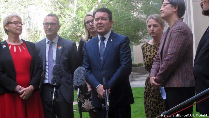 Australian senator Dean Smith (picture-alliance/AP/R. McGuirk)