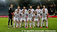 Fußball Mannschaftsfoto Iran