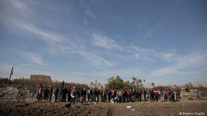 Refugees on the border between Serbia and Croatia Dimitris Tosidis