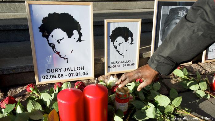 Deutschland Gedenken an Oury Jalloh