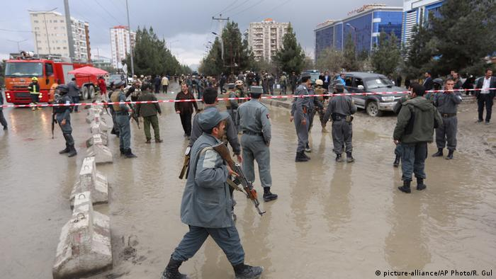 Afghanistan Selbstmordanschlag in Kabul (picture alliance/AP Photo)