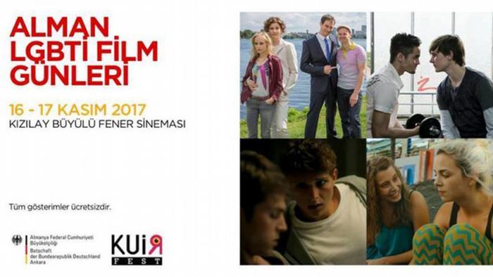 Turkey LGBTI film festival poster