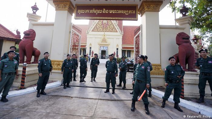 Kambodscha Oberstes Gericht verbietet Oppositionsspartei CNRP