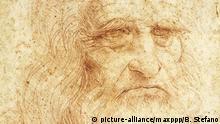Autoportrait de Léonard de Vinci (Leonardo da Vinci) (1452 - 1519) |