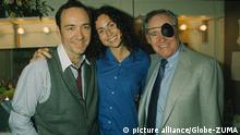 KEVIN SPACEY with Minnie Driver and Jack Lemmon at Iceman Cometh play , Old Vic Theatre London. (Credit: © Globe-ZUMA  