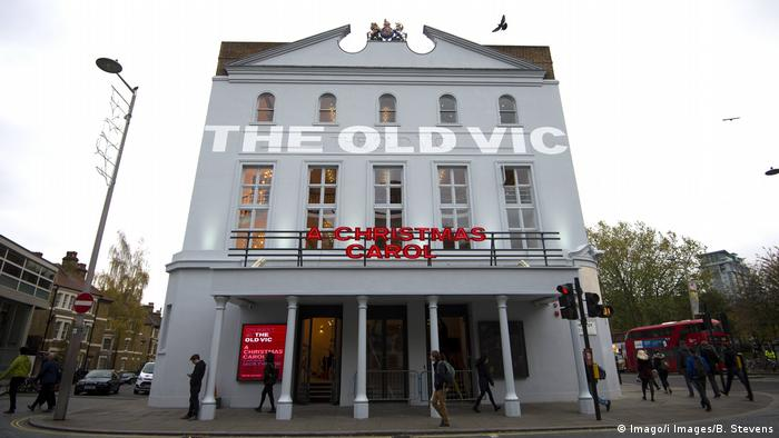 UK - The Old Vic Theatre in London (Imago/i Images/B. Stevens)