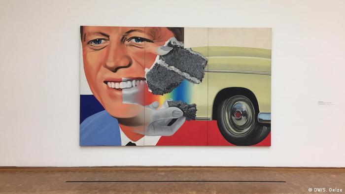 Rosenquist painting: President Elect (DW/S. Oelze)