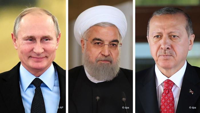 Putin, Ruhani ve Erdoğan çözüm masasına oturacak