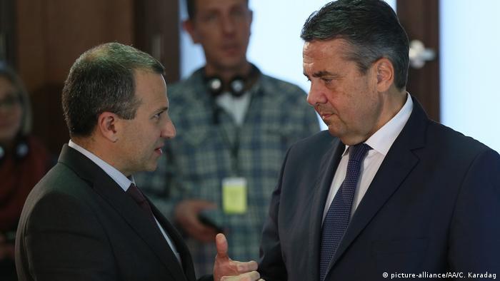 Deutschland Berlin - Sigmar Gabriel und libanesischer Außenminister Gebran Bassil