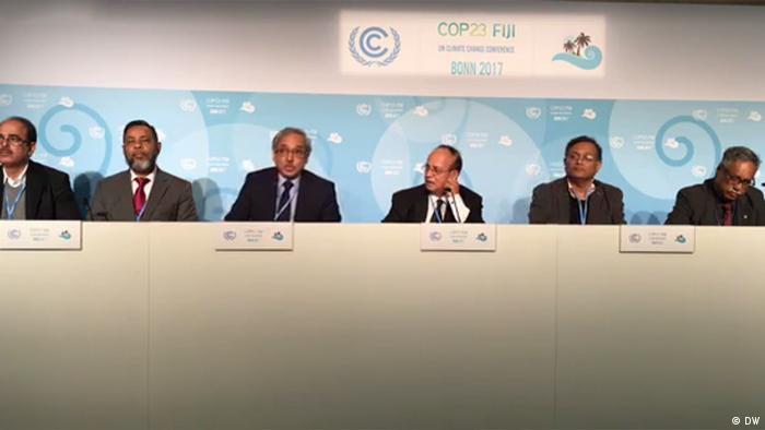 COP23 in Bonn - PK Bangladesch (DW)