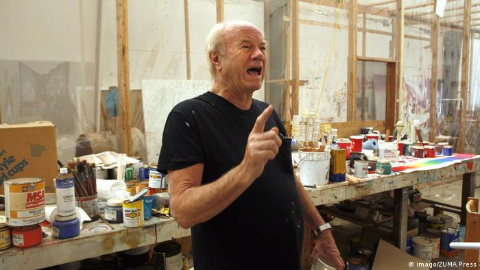 James Rosenquist im Atelier (Foto: imago/ZUMA Press)