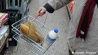 Kroatien Land und Leute Einkaufen in Zagreb