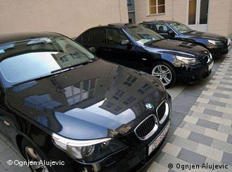 Ministarski auti u Zagrebu