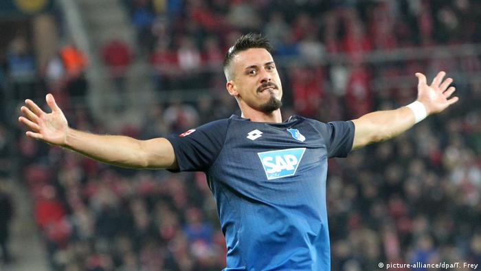 1899 Hoffenheim - Sandro Wagner (picture-alliance/dpa/T. Frey)