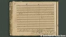 Beethoven Partitur Vogelstelle Pastorale