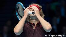 ATP-World Tour Finals Halbfinale Zverev vs Sock (Imago/Colorsport)