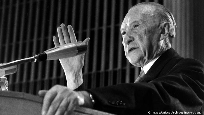 Konrad Adenauer (Imago/United Archives International)