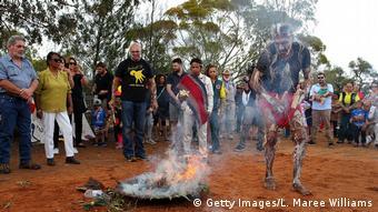 Australien Mungo Mann Beerdigung Aboriginals