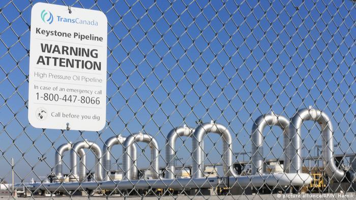 USA Nebraska Keystone Pipeline