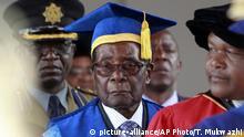 Simbabwe Robert Mugabe hält Rede an der Uni