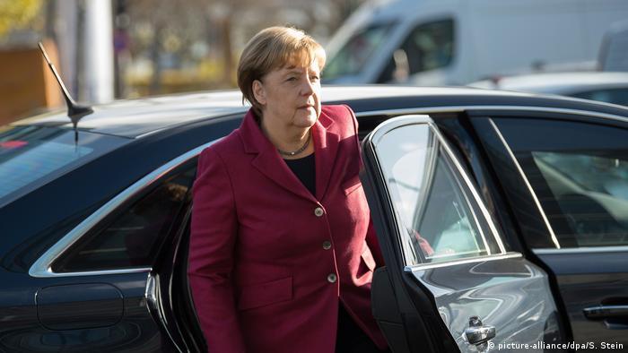 Deutschland Fortsetzung der Sondierungsgespräche (picture-alliance/dpa/S. Stein)