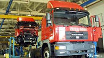 Truck manufacturing plant in Belarus