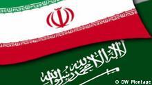 Symbolbild Iran Saudi Arabien