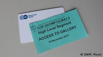 Deutschland Weltklimagipfel COP23 (DW/M. Monti)