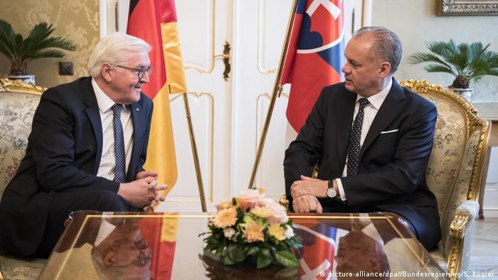 Bundespräsident Steinmeier besucht Slowakei (picture-alliance/dpa//Bundesregierung/S. Kugler)