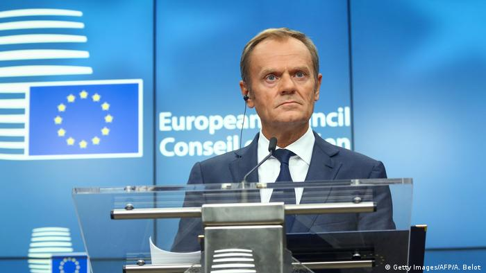Belgien EU-Kommission Donald Tusk (Getty Images/AFP/A. Belot )