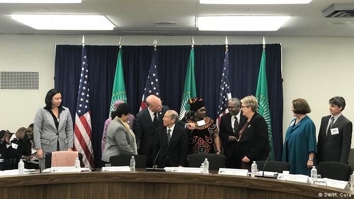 USA Treffen zwischen US Staatssekretär für afrikanische Angelegenheiten mit der Afrikanischen Union