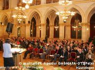 سخنرانی آلئیدا آسمن در تالار شهرداری وین