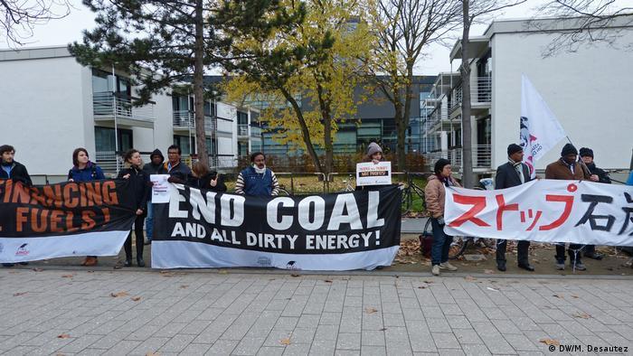 Demonstrație anti-cărbune la Bonn la COP23