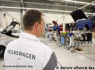 Цех завода VW  в Калуге