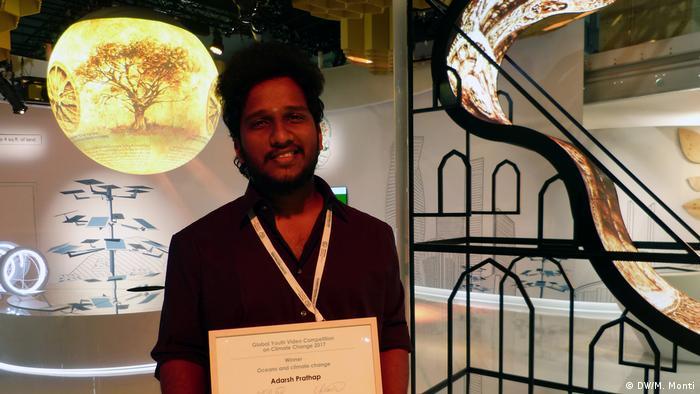 COP23 Klimakonferenz in Bonn Adarsh Prathap (DW/M. Monti)