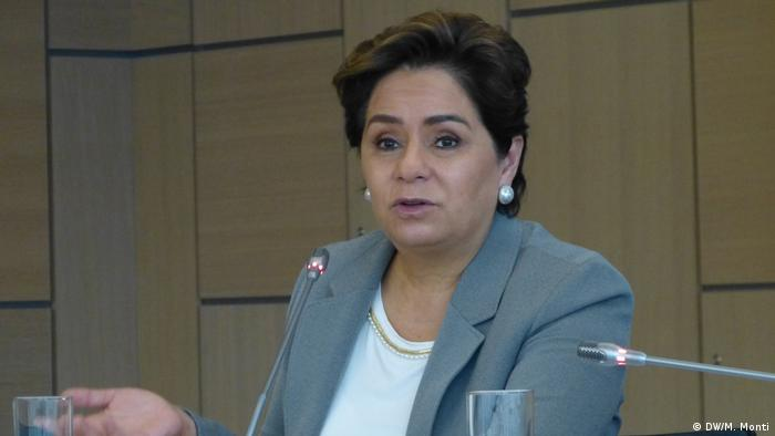 COP23 Klimakonferenz in Bonn Patricia Espinosa (DW/M. Monti)