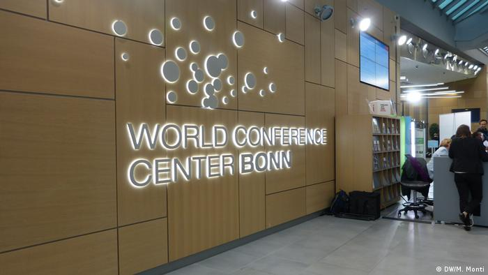 The Climate Conference COP23 in Bonn World Conference Center (DW/M. Monti)